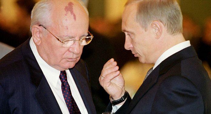 Putin Gorbaçov