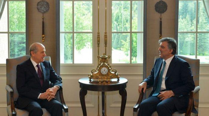 Abdullah Gül Devlet Bahçeli