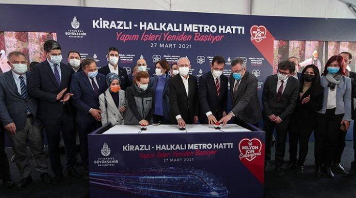 Ekrem İmamoğlu Kemal Kılıçdaroğlu