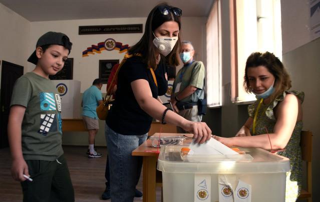 Ermenistan seçim