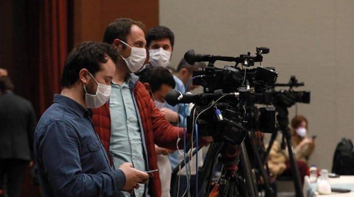 Medya basın kamera