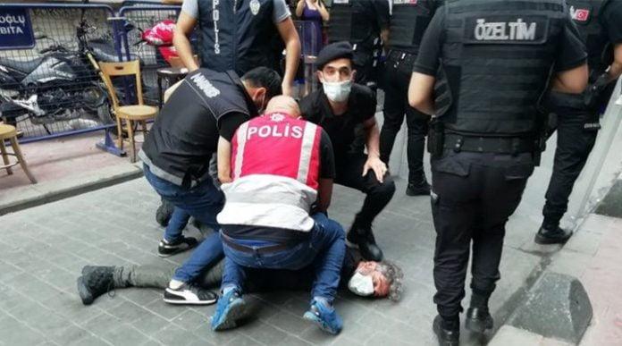 polis baskı darp