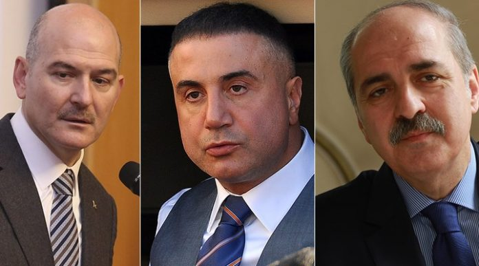 Süleyman Soylu Sedat Peker Numan Kurtulmuş
