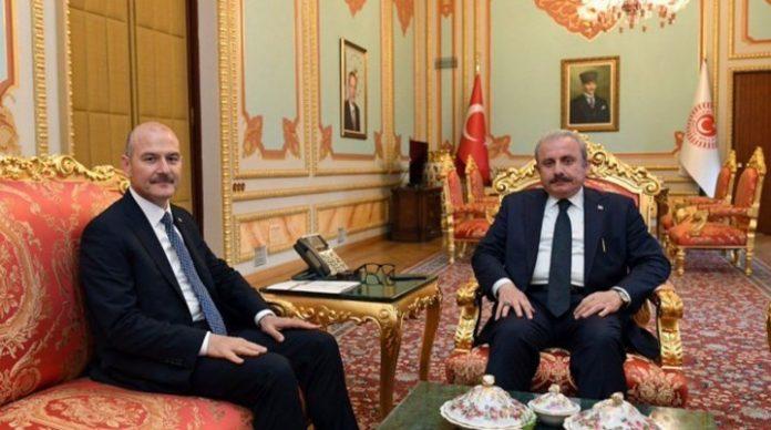 süleyman soylu Mustafa Şentop