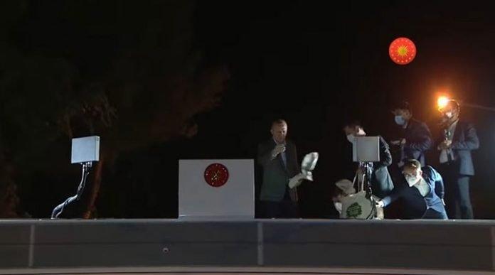 Erdoğan gezi