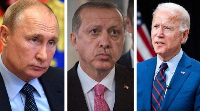 Putin, Biden, Erdoğan