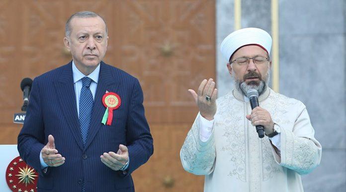 Ali Erbaş Erdoğan