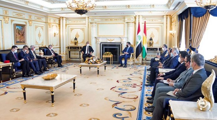 CHP heyeti Erbil