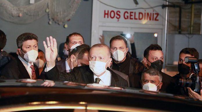 Erdoğan Rize protesto