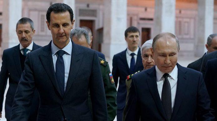 Putin Esad